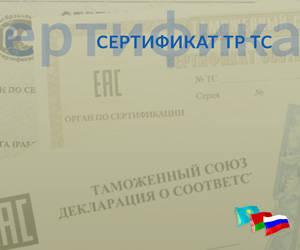 Сертификат Технического регламента Таможенного союза (ТР ТС)